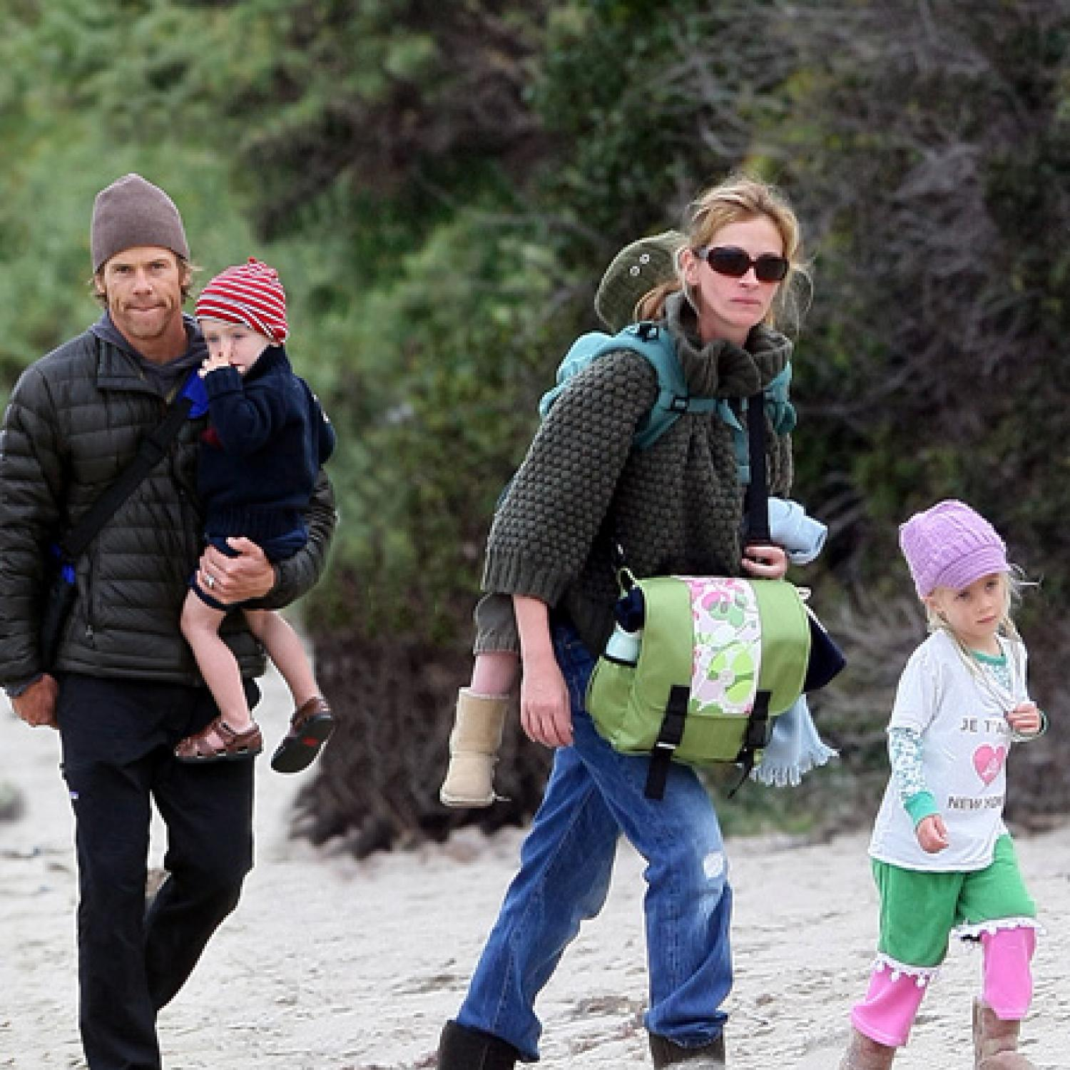 The children of Julia Roberts are the most important part of the life of an incomparable actress 30