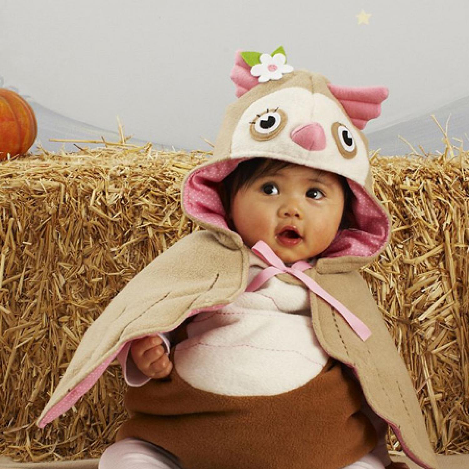 costume of the day: baby owl | parenting