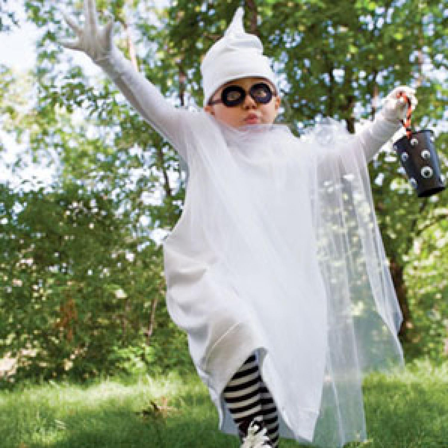 Halloween Costume of the Day: Boo-tiful Ghost | Parenting