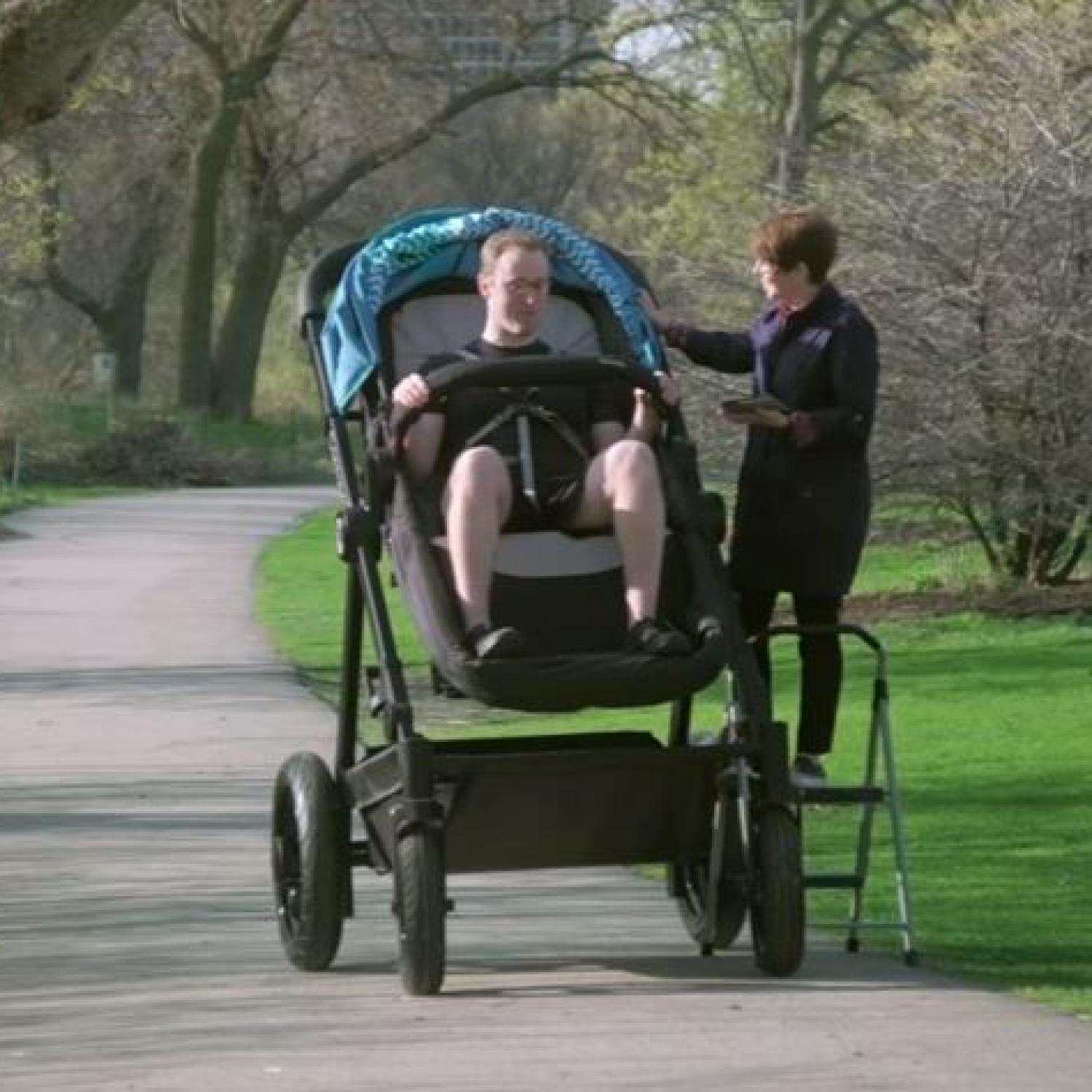 You Can Literally Test Drive Your Baby S Stroller In This