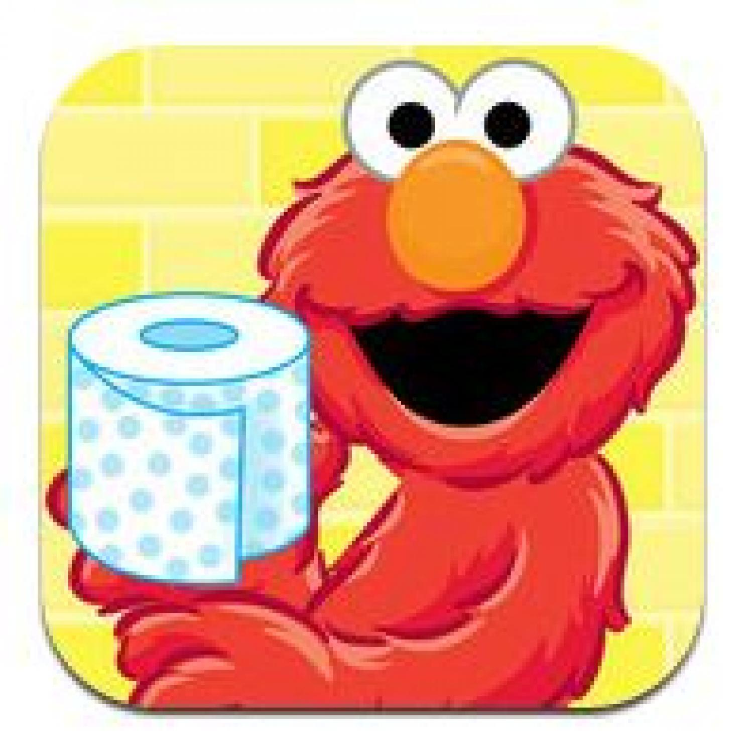 Well-known Kids' App of the Week: Potty Time with Elmo | Parenting LB09