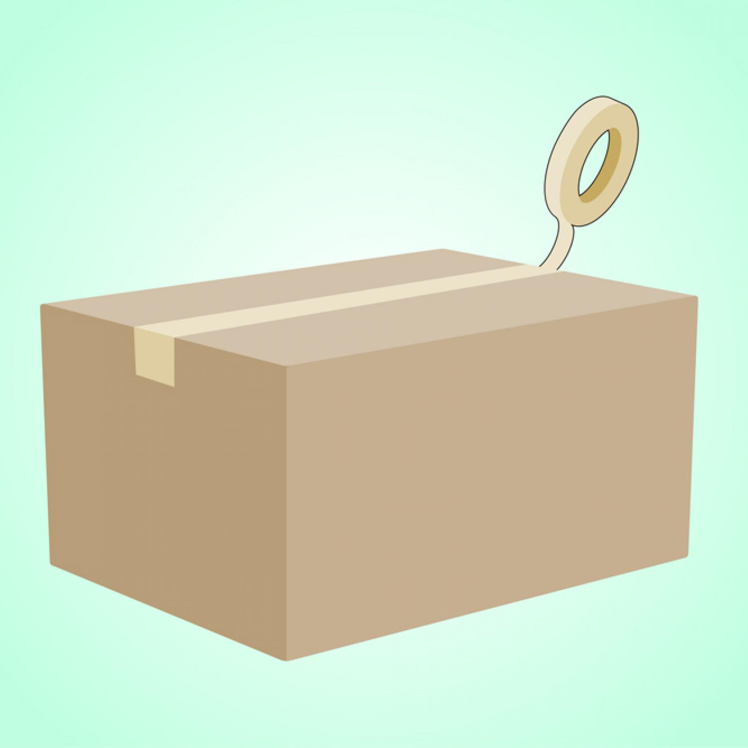 How to make a box of cardboard with your own hands 39