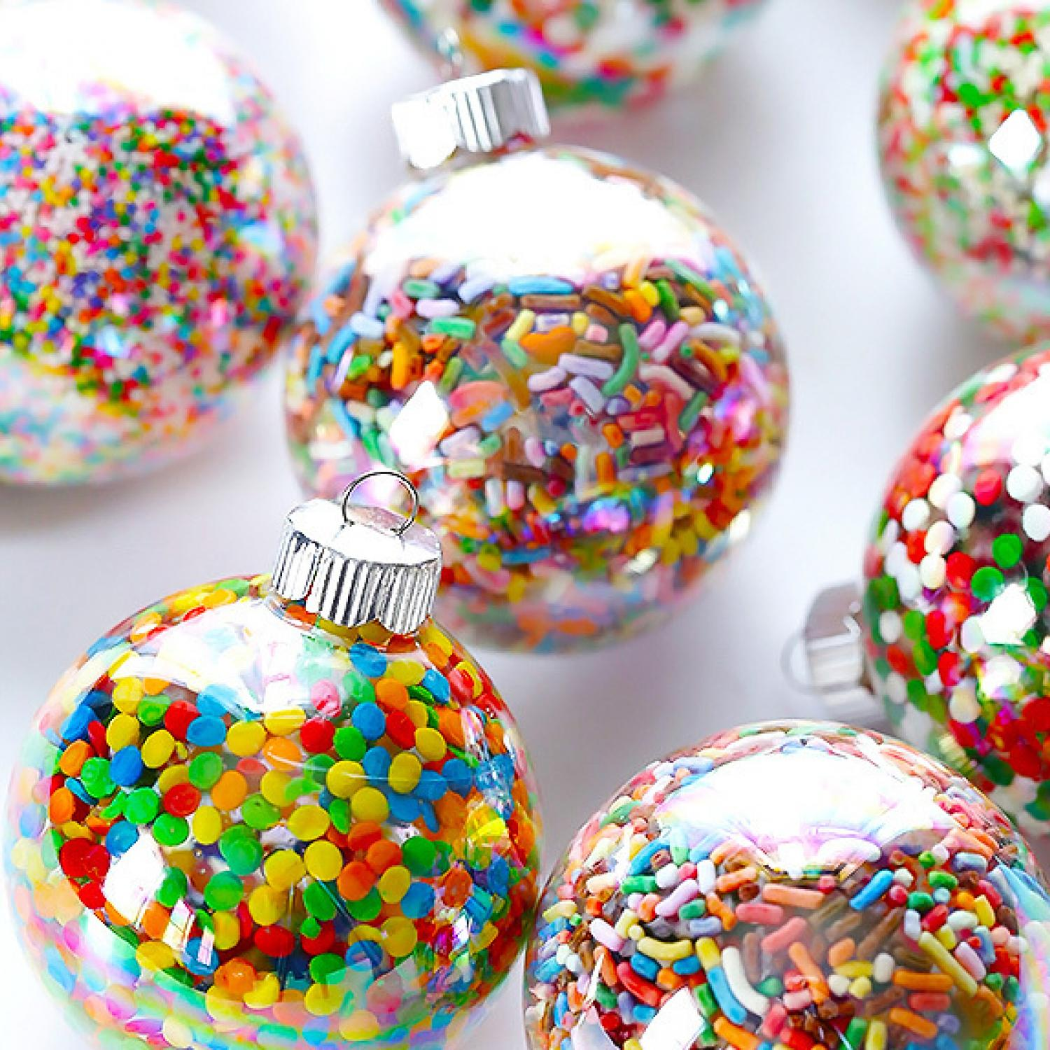 10 diy holiday ornaments kids can help you make parenting - Kids Christmas Ornaments