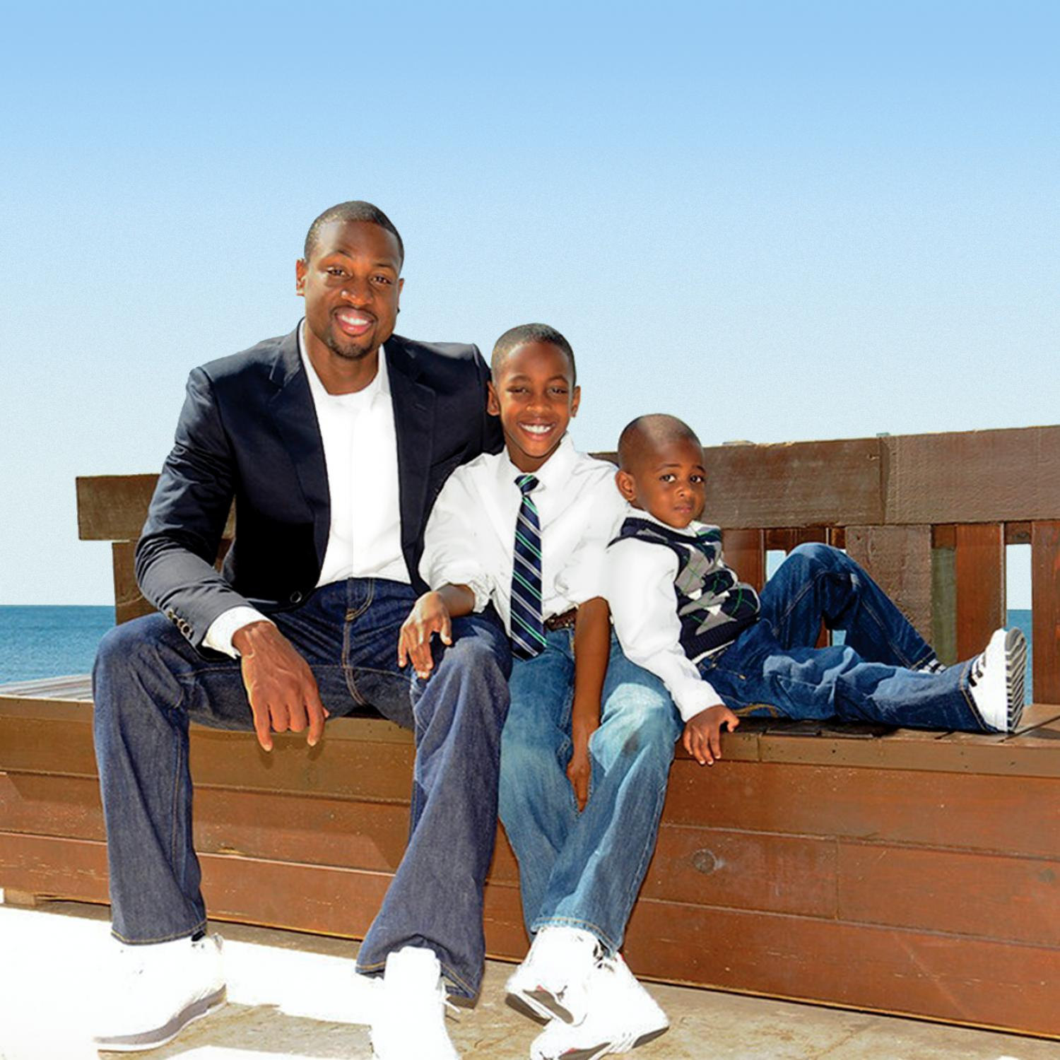 Dwyane Wade And His Family – Daily Motivational Quotes