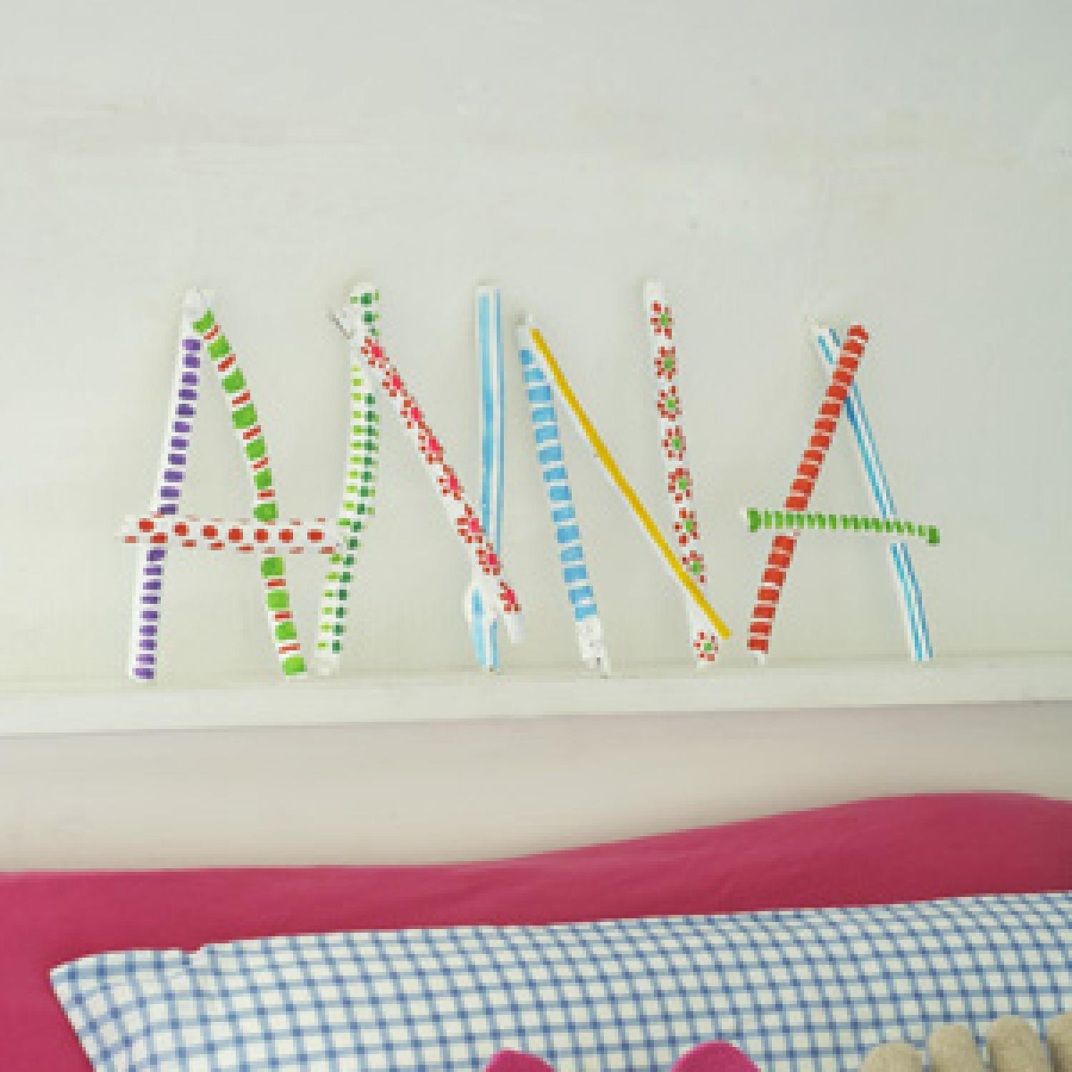 Personalized Name Art Craft Parenting
