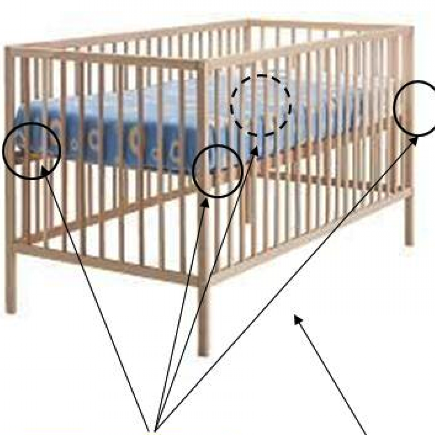 with to mattress design bradford beautiful crib elizabeth in ii davinci sorelle rail storage toddler ikea delta leons craft panel grande cloud rails convertible bed cameron convertibleler baby graco guard child