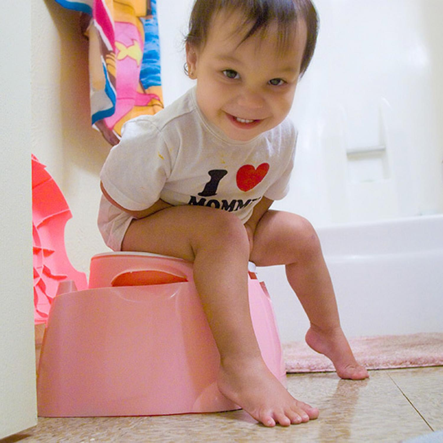 What should I do if my baby can not go to the toilet
