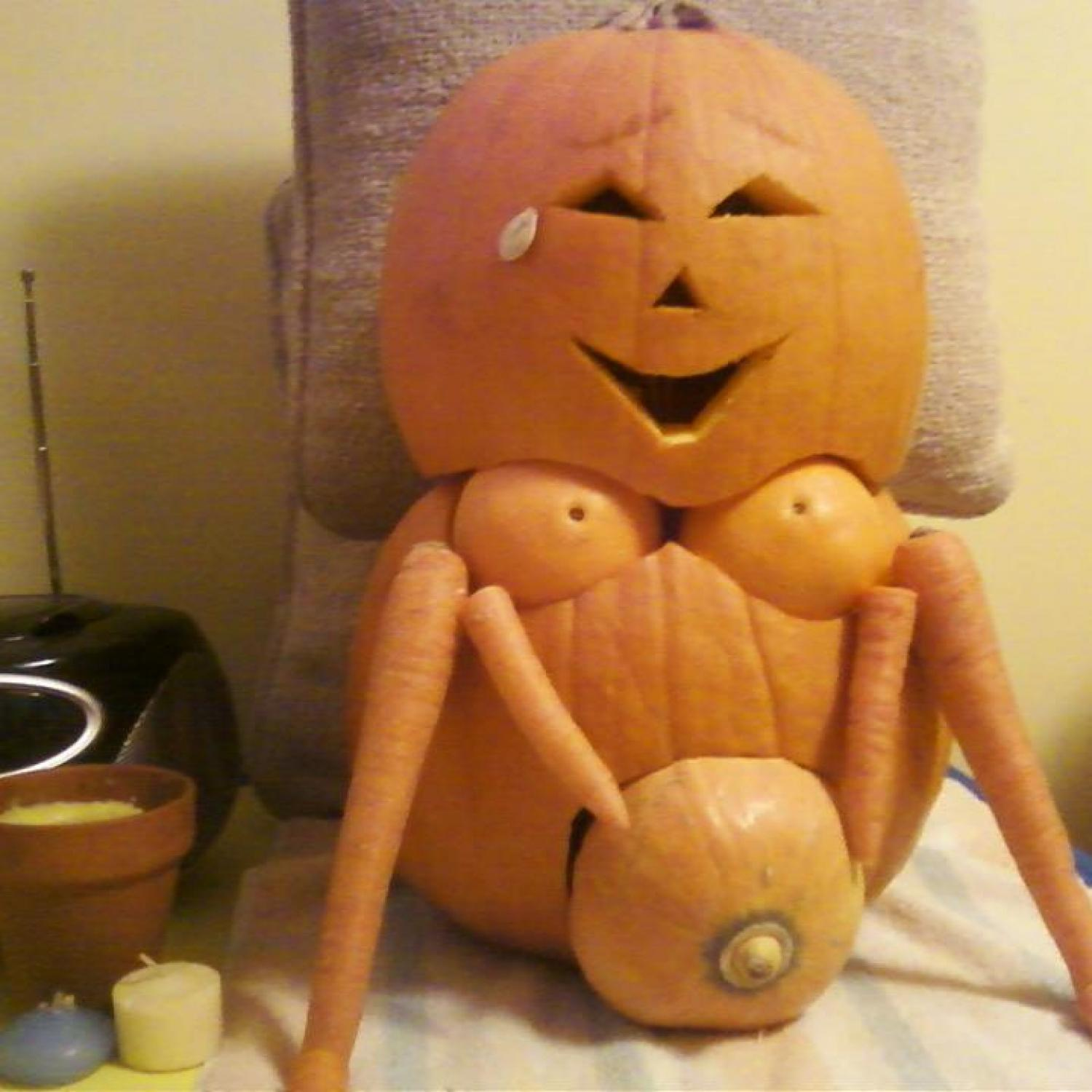 How to make a pumkin sex toy