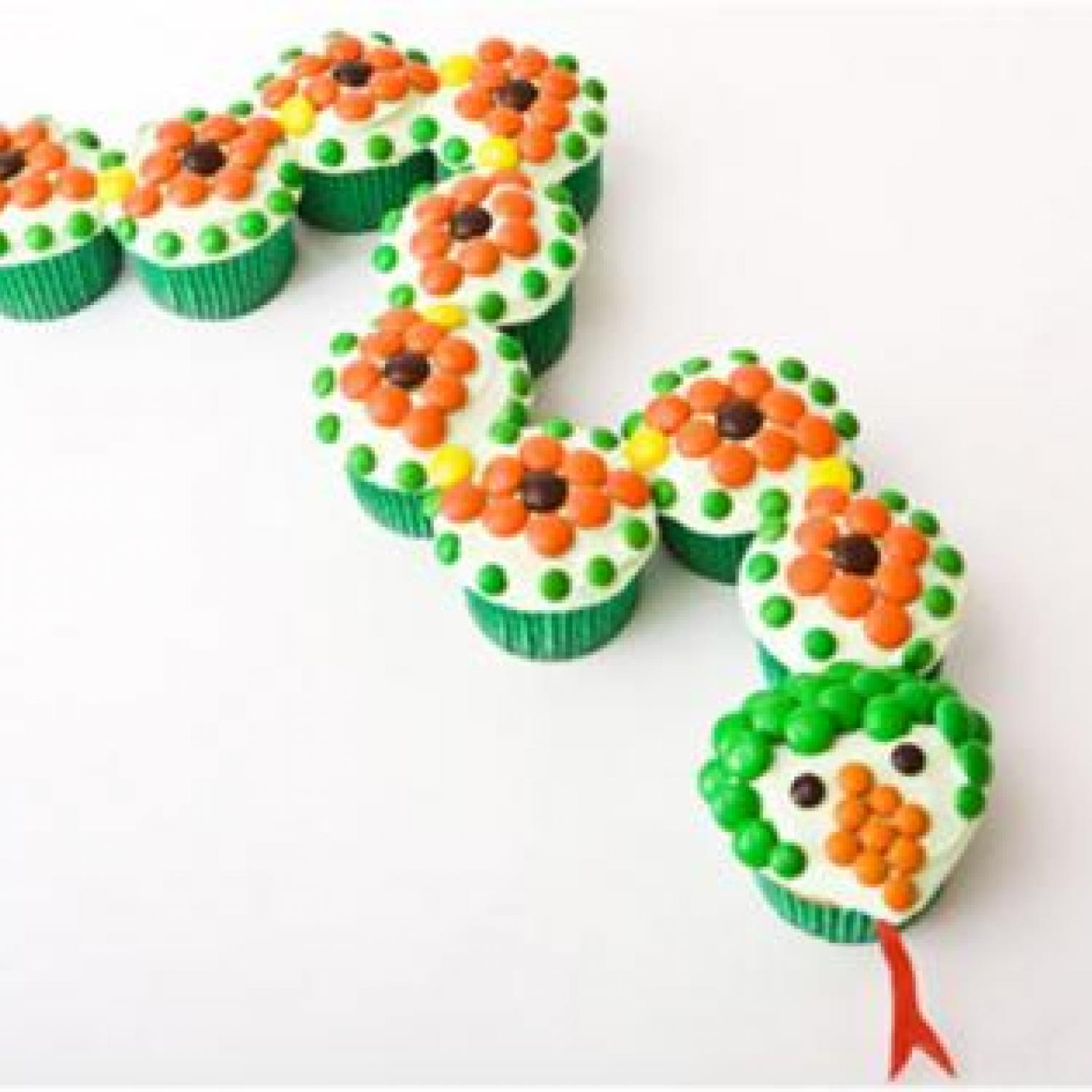 Snake Birthday Cake Design