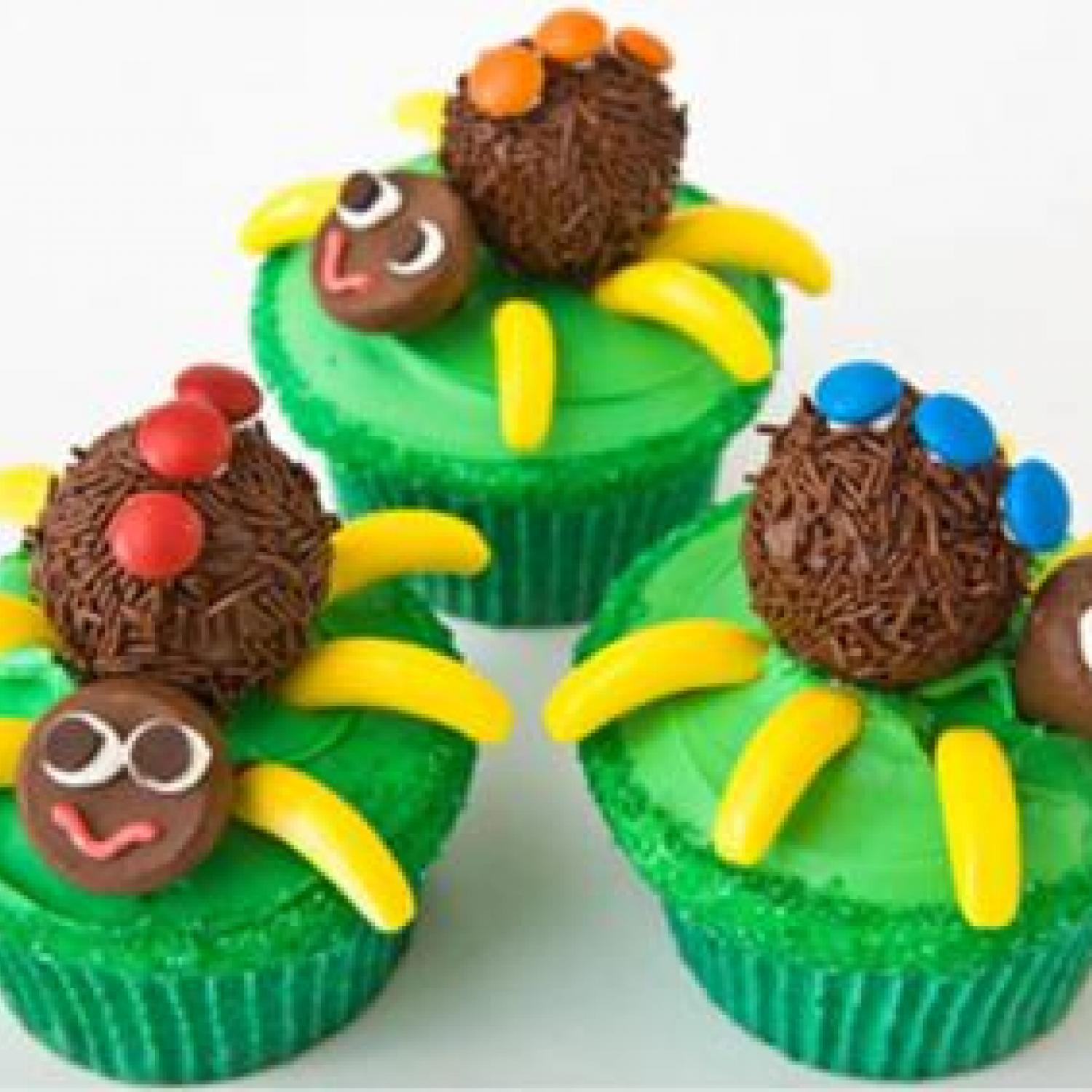 Spider Cupcakes Birthday Cake Design Parenting