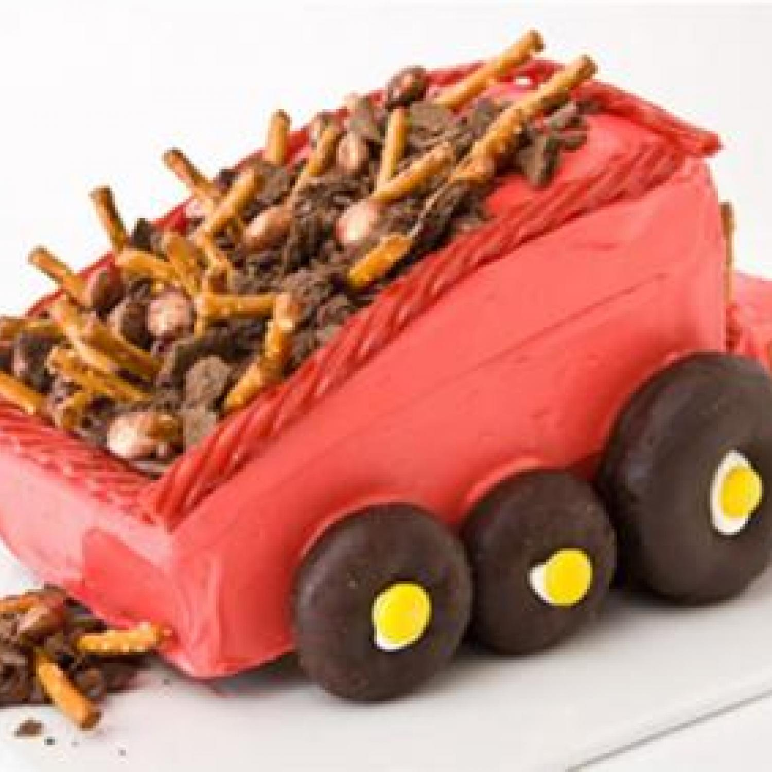 Dump Truck Birthday Cake Design Parenting