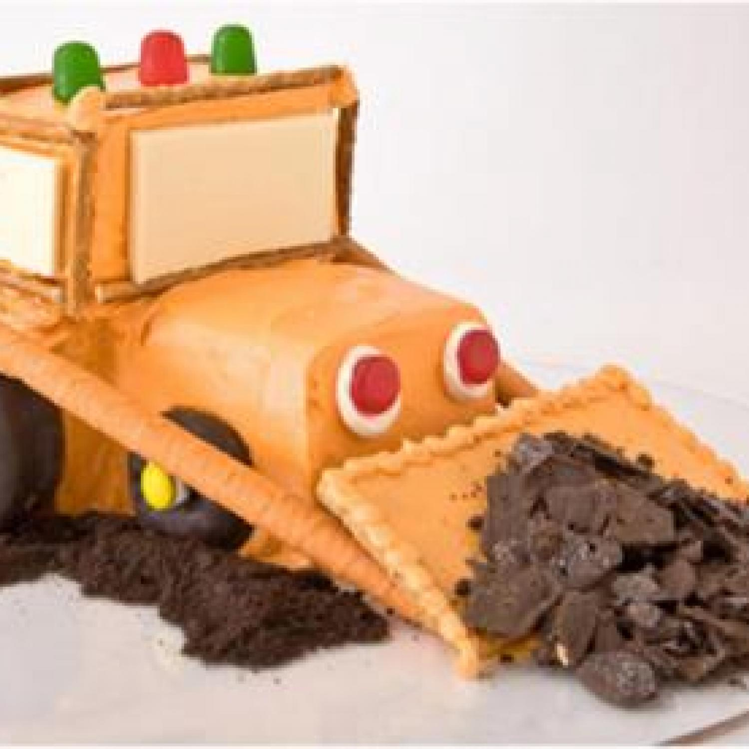Bulldozer Birthday Cake Design Parenting
