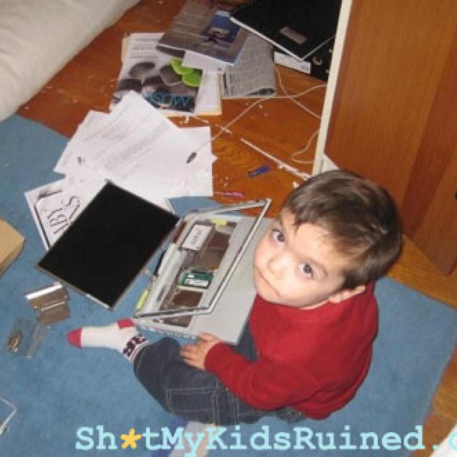 Stuff My Kids Ruined Dad Edition Parenting