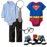 Infant Halloween DIY Costumes Clark Kent