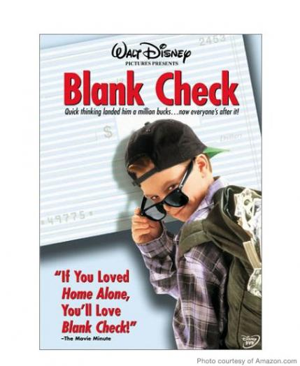 Blank Check, PG, 93 minutes