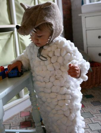 75 cute homemade toddler halloween costume ideas parenting this is my little wolf in sheeps clothing made from hundreds of cotton balls and a lot of hot glue gunning solutioingenieria Images
