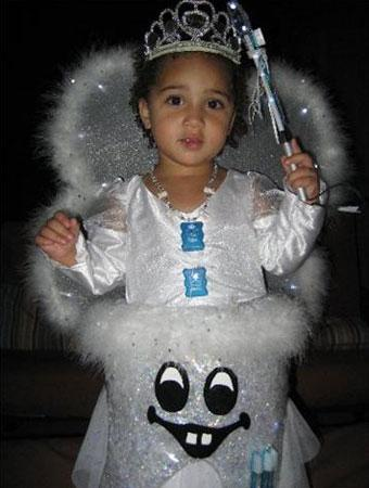 This is Alea the Tooth Fairy! Alea is an outgoing 2-year-old who loves to dress up and take pictures. She decided to be a Tooth Fairy this year because she ...  sc 1 st  Parenting & 75 Cute Homemade Toddler Halloween Costume Ideas | Parenting