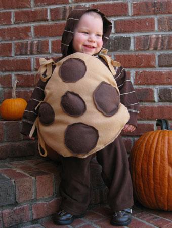 Ryan 16 months dressed up as a chocolate chip cookie. The idea came to me one day when I realized how much Ryan loves his stuffed Cookie Monster toy.  sc 1 st  Parenting & 75 Cute Homemade Toddler Halloween Costume Ideas | Parenting