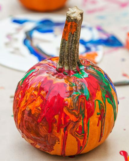 Small Pumpkin Decorations: 5 Pumpkin Decorating Ideas For Toddlers