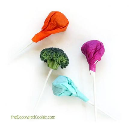 Healthy Lollipops