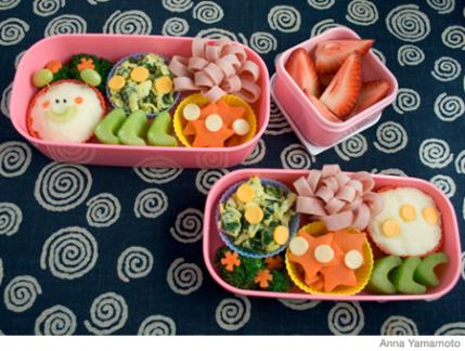 See How To Make The Bunny Bento Lunch Box Anna Yamamoto