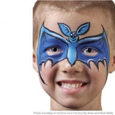 Y Bat Face Painting Instructions Kids Will Go Well Batty For This Simple Design That S Perfect A Night Of Tricks And Treats