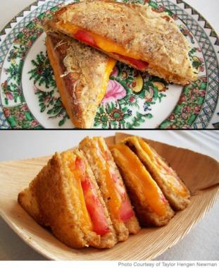 Taylor Hengen Newman Easy Grilled Cheese Recipe