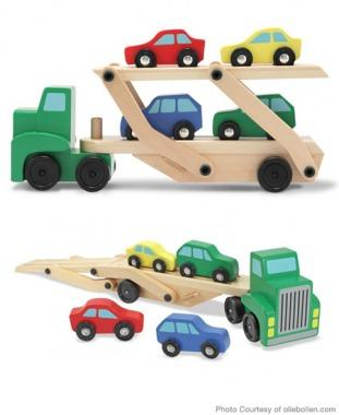 Melissa and Doug Car Carrier Truck