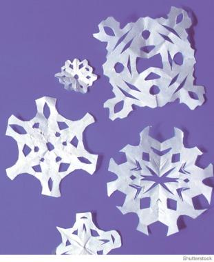 Christmas and Holiday Crafts for Kids Snowflakes