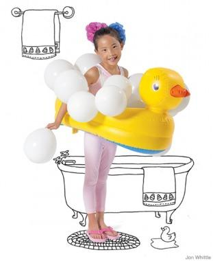 Bubble Bath  sc 1 st  Parenting & 35+ Easy Homemade Halloween Costumes for Kids   Parenting