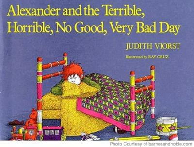 best preschool books alexander and the terrible day