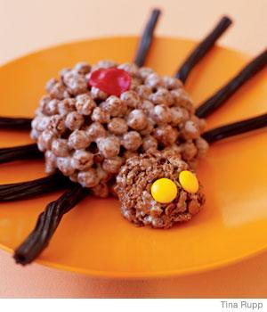 Easy Halloween Recipes Black Widow Spider Treat