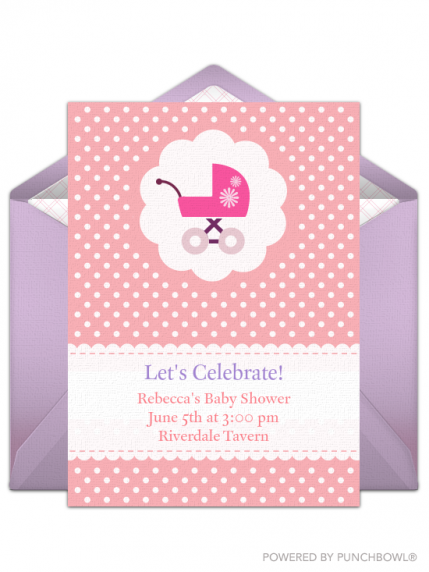 Top 15 baby shower invites that you can send online parenting invite the mom to bes nearest and dearest to the baby shower with this adorable digital invitation the oh so cute design is customizable filmwisefo