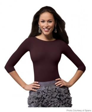Spanx On Top and In Control Essential 3/4 Sleeve Bateau