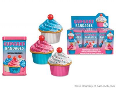 Cheap Stocking Stuffers for Kids Cupcake Bandages