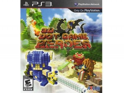 3-D Dot Game Heroes