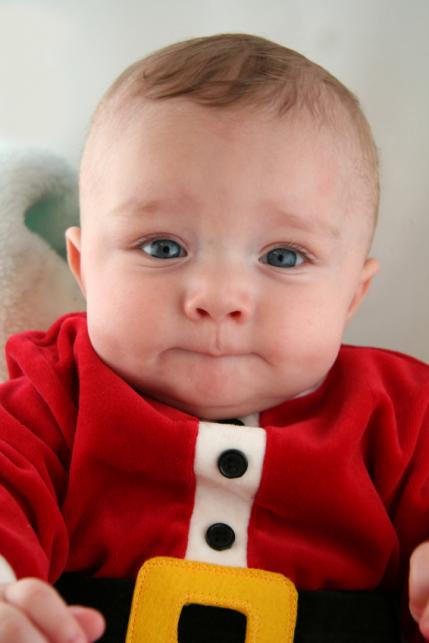 Baby First Christmas Photo Tips