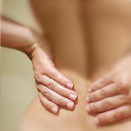 Back pain and tender breasts