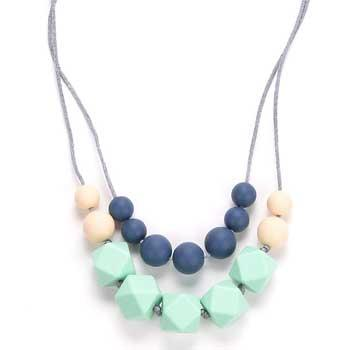 New Parents Gifts BEBE by Me 'Harper' All-in-1 Teething Necklace