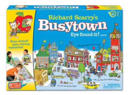 Richard Scarry's Busytown Eye Found It