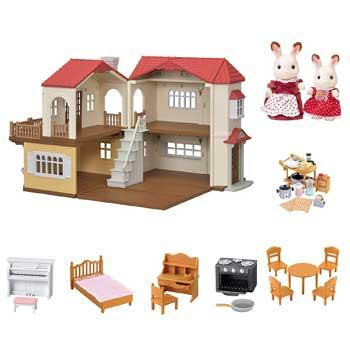 Amazon Black Friday Deals Calico Critters Red Roof Country Home Gift Set