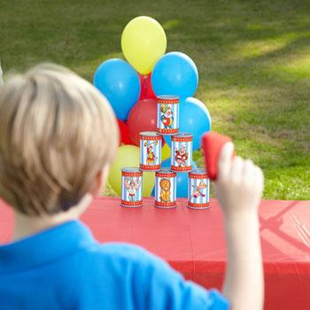 kids outdoor toys can toss