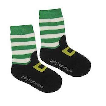 St. Patrick's Day Outfits for Baby Carrolls Irish Gifts Lucky Leprechaun Socks