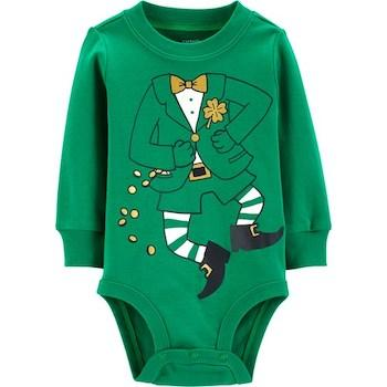 St. Patrick's Day Outfits for Baby Carter's Baby Boys' Bodysuit