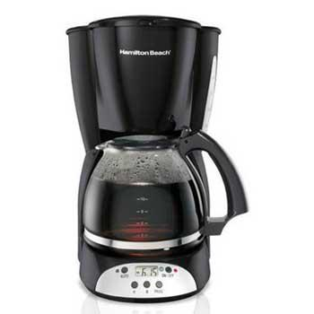 New Parents Gifts Hamilton Beach 12-Cup Programmable Coffee Maker