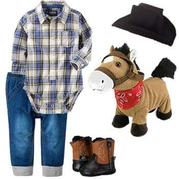 Little Wrangler Infant Halloween Costume