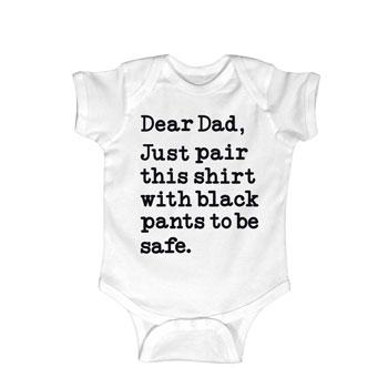 gifts for dad onesie