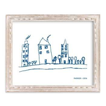 Best Gift Ideas for Moms Your Drawing As Art Print by Minted