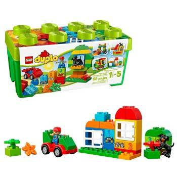 Baby Holiday Gifts Lego Duplo All-in-One-Box-of-Fun Set