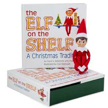 elf on the shelf book and doll - Best Christmas Books For Kids